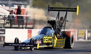 Richie Crampton during testing at Palm Beach (Fla.) Int'l Raceway. (GEICO photo)