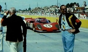 Charlie Earwood at Sebring Int'l Raceway during the 1970s. (Earwood family photo)