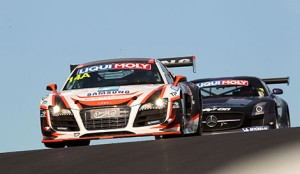 Rob Huff, Oliver Gavin, Kevin Gleason and Richard Meins will pilot the Audi R8 LMS in the 12 hour endurance race.