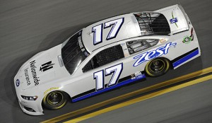 Nationwide's primary sponsorship of Stenhouse in the No. 17 Ford Fusion includes seven races, and will start with the season opener at Daytona Int'l Speedway. (HHP/RustyJarrett )
