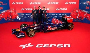 The Renault powered 2014 Toro Rosso STR9. (Photo: Toro Rosso)