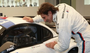 Alex Zanardi will race in the Blancpain Sprint Series at the wheel of a BMW Z4 GT3, which has been specially modified to meet his needs. (Photo: ROAL Motorsport)