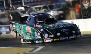John Force paced NHRA Funny Car qualifying at Wild Horse Pass Motorsports Park in Arizona on Friday. (NHRA Photo)