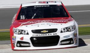 Kevin Harvick's No. 4 Stewart Haas Racing Chevrolet SS. (HHP/Harold Hinson Photo)