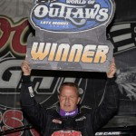 Darrell Lanigan continues to dominate the World of Outlaws Late Model Series this year. (Al Steinberg Photo)