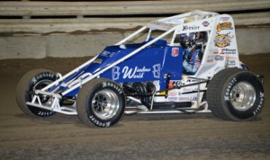 Jarett Andretti will contest the full AMSOIL USAC National Sprint Car Series and USAC Silver Crown Series schedules in 2014. (Al Steinberg Photo)