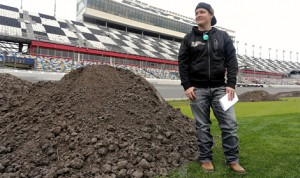 Ricky Carmichael is once again designing the Daytona Supercross course. (Daytona Int'l Speedway Photo)
