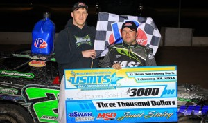 Stormy Scott was untouchable in United States Modified Touring Series action on Saturday at El Paso Speedway Park.