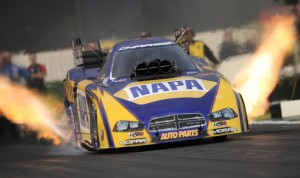 Ron Capps has his eye on Old Bridge Township Raceway Park this weekend in New Jersey. (NHRA Photo)