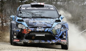Ken Block and Alex Gelsomino will try for a 7th Rally in the 100 Acre Wood win this year. (Scott Rains Photo)