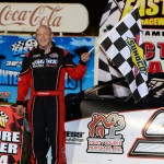 Dale Mathison won the first of two modified features on Tuesday at East Bay Raceway Park. (Joe Secka/JMS Pro Photo)