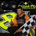 Kyle Strickler won the second modified feature on Tuesday at East Bay Raceway Park. (Joe Secka/JMS Pro Photo)