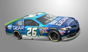 Cole Whitt's No. 26 Sprint Cup Series Toyota.