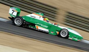 Spencer Pigot won Tuesday's Pro Mazda portion of Winterfest at Barber Motorsports Park in Alabama.