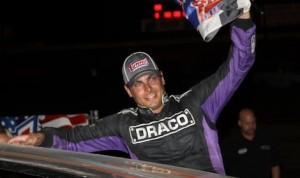 Stewart Friesen won Thursday night's DIRTcar modified feature at Volusia Speedway Park. (R.E. Wing photo)