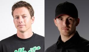 Tanner Foust (left) and Scott Speed will drive for the Volkswagen Andretti Rallycross team in 2014.