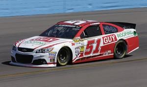 Justin Allgaier will drive the No. 51 Chevrolet SS full-time this season.  (HHP/Harold Hinson)
