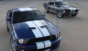The 50th anniversary display at the Charlotte Motor Speedway AutoFair hosted by OldRide.com will feature five generations of Mustangs. (Photo credit: Brad Bowling)