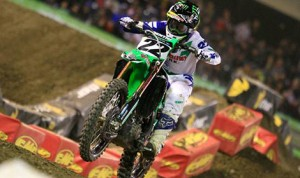 Chad Reed en route to victory at Angel Stadium. (Chris Weeden photo)