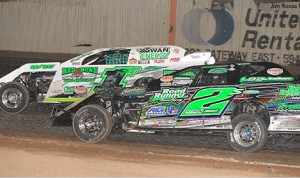 Twin brothers, Stormy and Johnny Scott battling for position in the USMTS MVT Gulf Coast Border Region. (USMTS Photo)