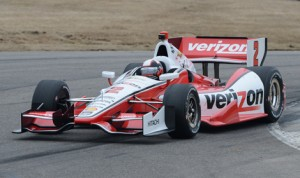 Juan Pablo Montoya was second fastest Monday during the open Verizon IndyCar Series test at Barber Motorsports Park. (IndyCar Photo)