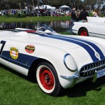 The No. 7 Corvette from 1953 was on display at the 2014 Amelia Island Concours. (Photo: Ralph Sheneen)