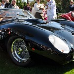 A 1957 Maserati 450s Zagato Berlinetta on display at the 2014 Amelia Island Concours. (Photo: Ralph Sheneen)