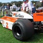 1977 McLaren M23 was driven by Jochen Mass to a 2nd place in the Swedish GP. (Photo: Ralph Sheheen)