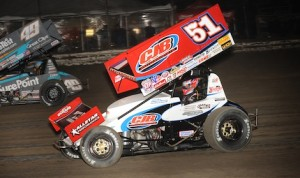 Paul McMahan (51) is hoping to score a few wins in his home state of California with the World of Outlaws STP Sprint Car Series. (Paul Arch photo)