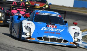 Scott Pruett, Memo Rojas and Marino Franchitti delivered Chip Ganassi Racing its first victory in the Mobil 1 Twelve Hours of Sebring Saturday at Sebring Int'l Raceway. (Al Steinberg Photo)