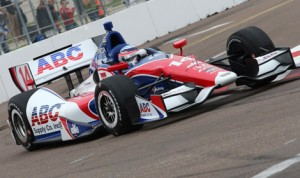 Takuma Sato topped the charts during the first day of Verizon IndyCar Series practice Friday in St. Petersburg, Fla. (IndyCar Photo)