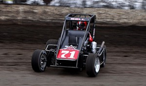 Christopher Bell won captured the first two rounds of the 2014 Lucas Oil POWRi National Midget Series at Oklahoma's Port City Raceway. (Boyd Adams photo)