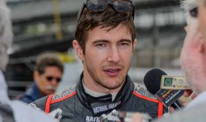J.R. Hildebrand will join Ed Carpenter Racing for the 2014 Indianapolis 500. (IndyCar Photo)
