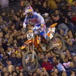 Ryan Dungey is one of the top choices to take control of the Monster Energy AMA Supercross tour in 2015. (Shawn Mueller Photo)