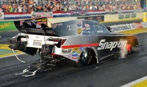 Cruz Pedregon was the fastest qualifier in the NHRA Funny Car class for the March 16 Amalie Oil NHRA Gatornationals at Auto-Plus Raceway in Gainesville, Fla. (Rhonda McCole Photo)