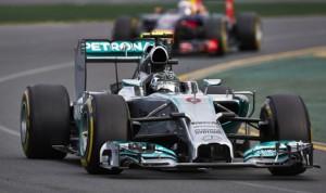 Nico Rosberg dominated Sunday's Formula One Australian Grand Prix. (Steve Etherington Photo)