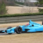 Simon Pagenaud pilots the No. 77 Valspar Honda during the 2014 Open Test at Barber Motorsports Park in Leeds, Ala. (Photo: IndyCar)