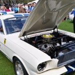 The first 1965 Shelby GT350 Mustang race car seen at the 2014 Amelia Island Concours. (Photo: Ralph Sheheen)