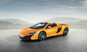 The latest model is shown in Tarocco Orange, a new addition to the McLaren color collection, developed with technology partner AkzoNobel. (Photo: McLaren)
