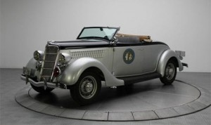 This 1935 Ford roadster will be part of a North Carolina State Highway Patrol 85th anniversary display during the April 3-6 AutoFair Hosted by OldRide.com. (Credit: CMS Photo)