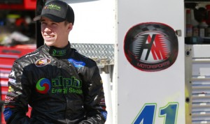 Ben Rhodes will look to rebound at Greenville Pickens Speedway from a disappointing finish at Bristol Motor Speedway last Saturday. (NASCAR Photo)