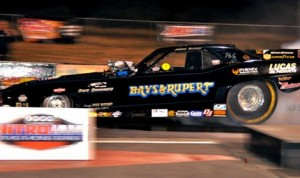Jason Rupert was the top qualifier in Funny Car Friday at Southwestern Int'l Raceway. (IHRA photo)