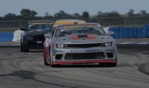 Robin Liddell & Andrew Davis captured Friday's Continental Tire SportsCar Challenge event at Sebring (Fla.) Int'l Raceway. (Richard Dole/LAT Photo)