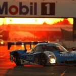 The Chip Ganassi Racing Ford Riley DP drove to the overall victory during Saturday's Mobil 1 Twelve Hours of Sebring. (Michael Levitt/LAT Photo