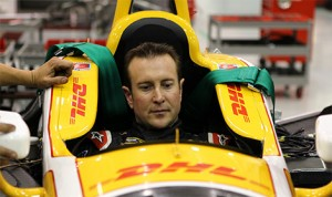 Kurt Busch, seen here last year at the Andretti Autosport shop, will attempt to become just the fourth driver to complete the Indianapolis 500/Coca-Cola 600 double this year.