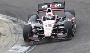 Will Power drives during the Verizon IndyCar Series open test At Barber Motorsports Park in Leeds, Ala. (IndyCar Photo)