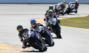 AMA Pro GoPro Daytona SportBike competitors will take to Daytona Int'l Speedway to battle in the Daytona 200 this Saturday. (Brian J. Nelson Photo)