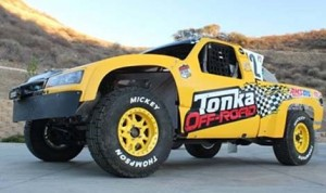 Myan Spaccarelli's Tonka off-road truck.