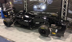 The new Formula Lites car on display at the North American Motorsports Expo in Charlotte, N.C., Saturday. (SCCA Photo)