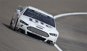 Brad Keselowski takes a lap during a NASCAR test at Las Vegas Motor Speedway on Thursday. (NASCAR Photo)
